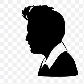 Men with profile