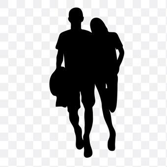 Cuddling couple 18