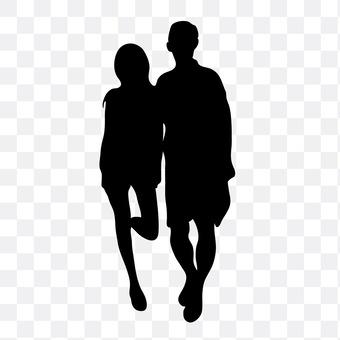 Cuddling couple 26