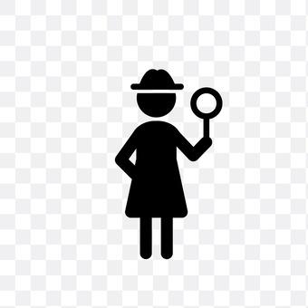 Female explorer