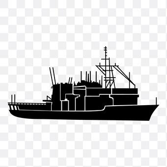 海上自卫船