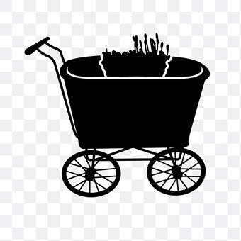 Wheel planter