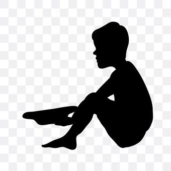 A begging child