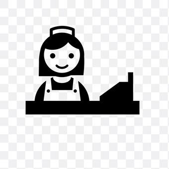 Cashier clerk