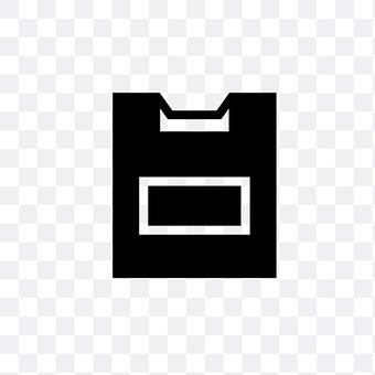Plastic bag (black)