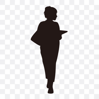 Woman big student