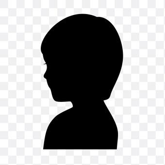 Boy's profile