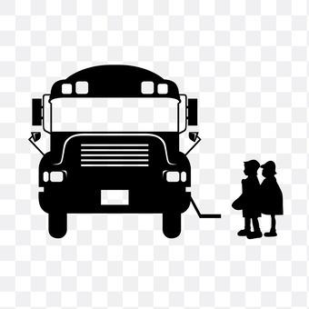 Bus going to school