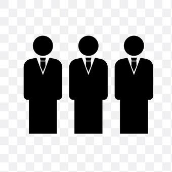 3 salaried workers