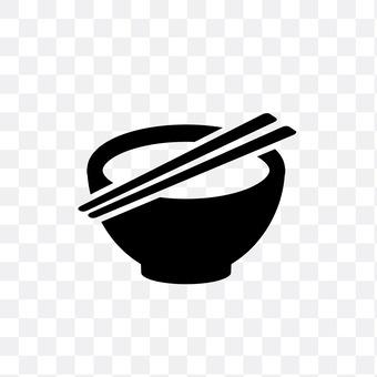 Bowls and chopsticks