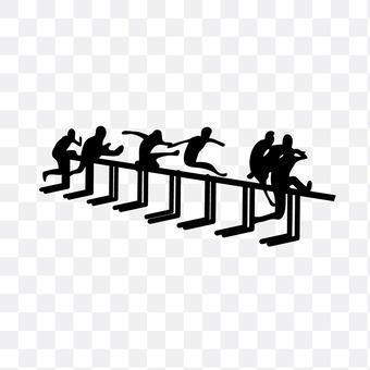 Hurdle run