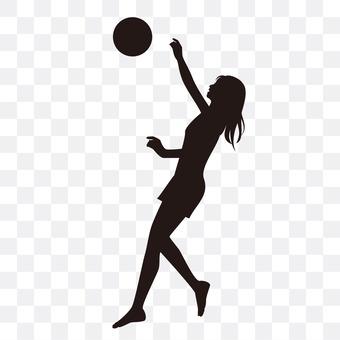 女子沙滩排球