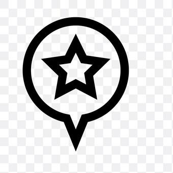 Speech balloon (star)
