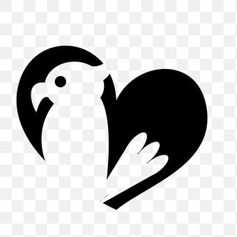 Hearts and birds