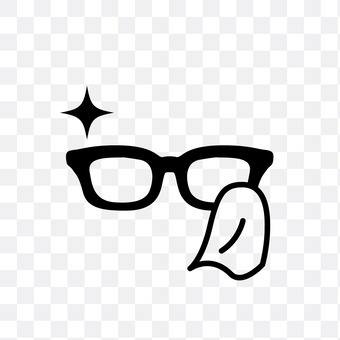 Eyeglass cleaner