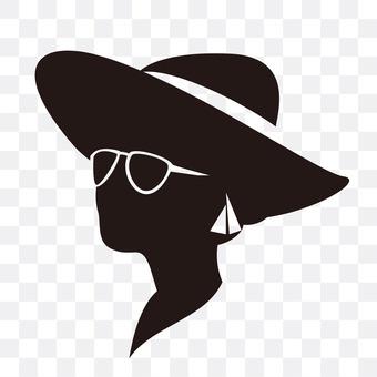 妇女的帽子