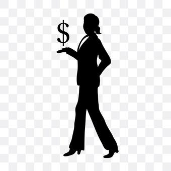 Dollar Mark and Female