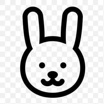 兔子(著臉)