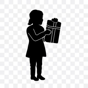 女孩的礼物