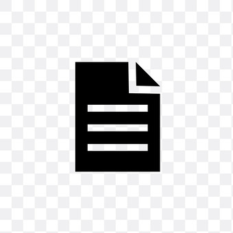 Document (black)