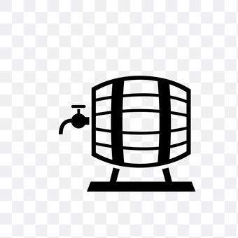 Wai wooden barrel