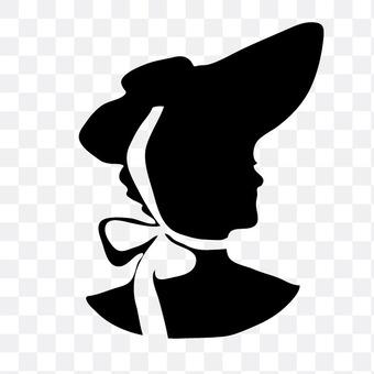 谁戴帽子女性