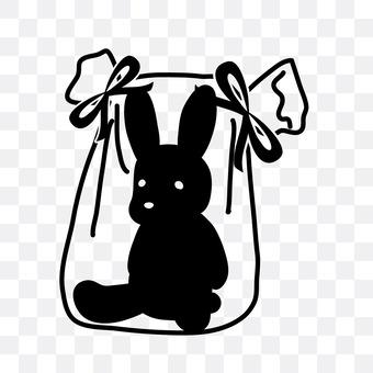 Rabbit stuffed toy