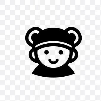 宝宝遭遇熊耳帽
