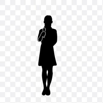 女性司会者