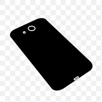 智能手机的背面