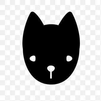 日本犬(黑色)
