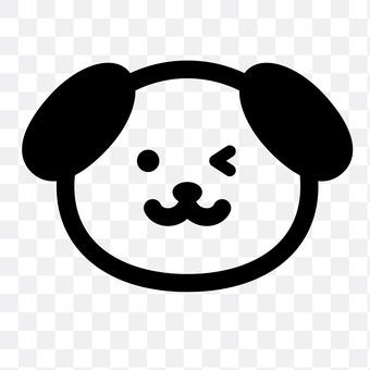 Dog (wink)