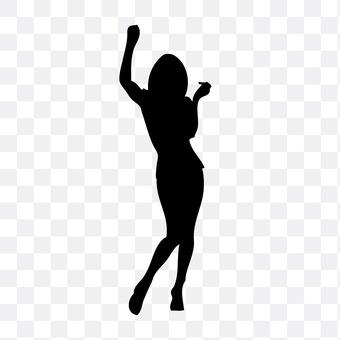 춤추는 여성 1