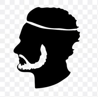 胡子的男人