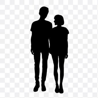 Cuddling couple 22