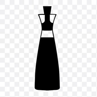 Dressing bottle