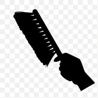 Brush brushes