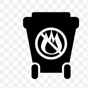 Trash can (incombustible)