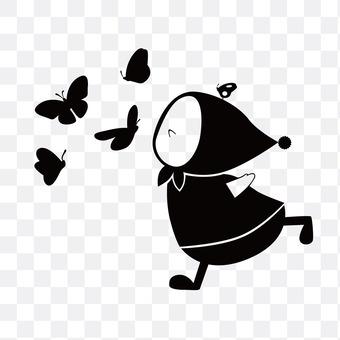 나비와 요정