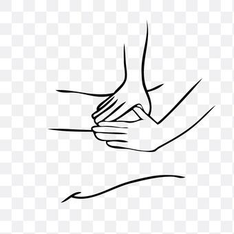 Massage (thigh)